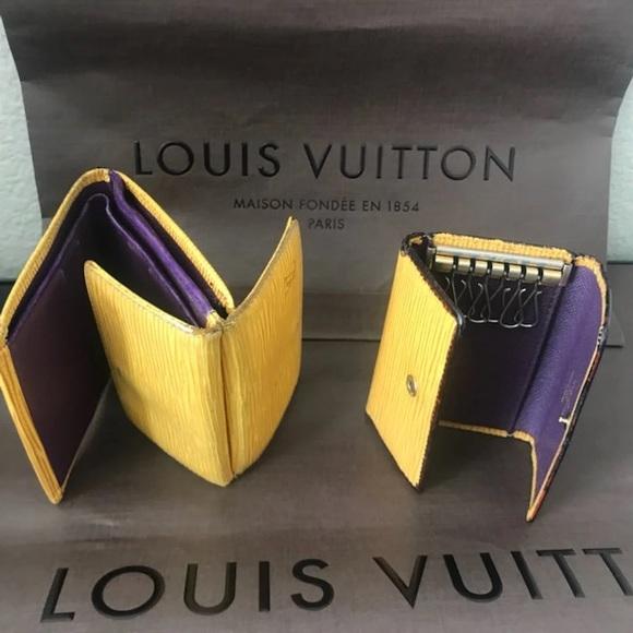 7154da28 3 Piece LV Bundle: Wallet + 6 Key 🔑 Holder + Bag
